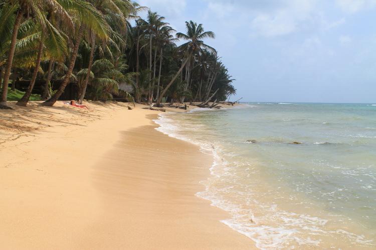 A beach in the Corn Islands, Nicaragua