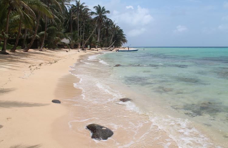 Otto Beach, Little Corn Island, The Corn Islands, Nicaragua