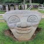 The Smiling Statues of San Agustin, Colombia