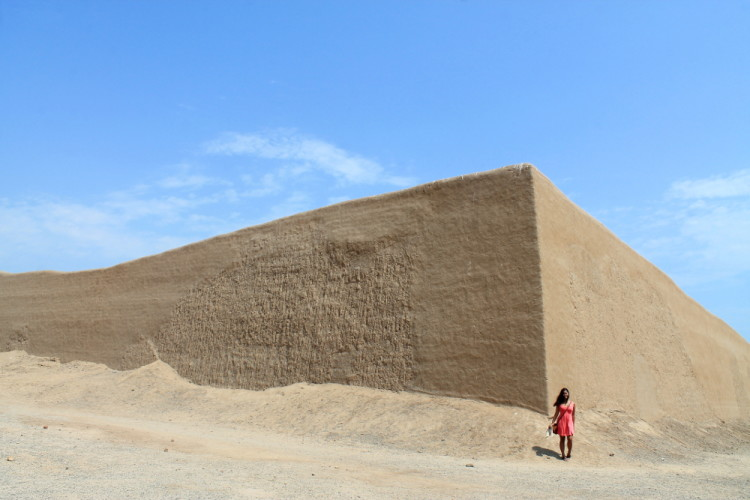 Desert ruins in northern Peru: Chan Chan