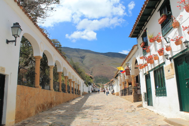 Villa de Leyva, Colombia: Historic buildings