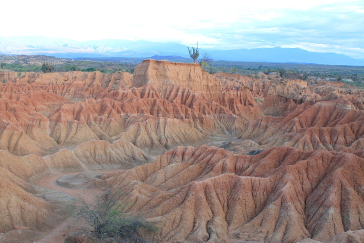 Stunning natural wonders in South America -- Tatacoa Desert, Colombia