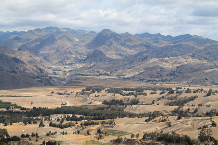 Ecuador highlands Quilotoa Loop