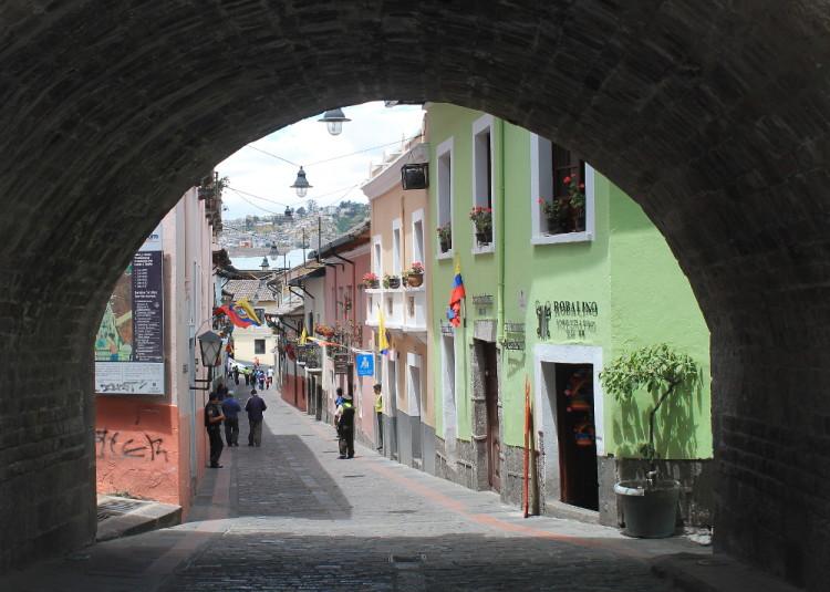 Quito old town, Ecuador: La Ronda