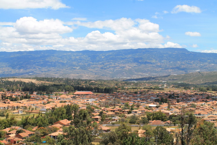 Villa de Leyva, Colombia: The mirador above town