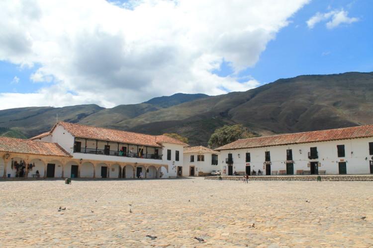 Villa de Leyva, Colombia: Main plaza