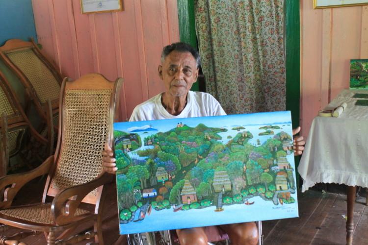 Rodolfo Aurellano, Solentiname Islands, Nicaragua