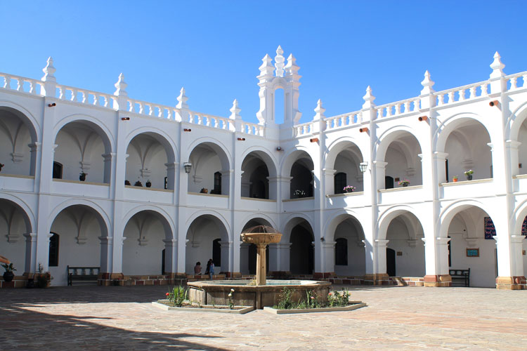 Church of San Felipe Neri in Sucre, Bolivia