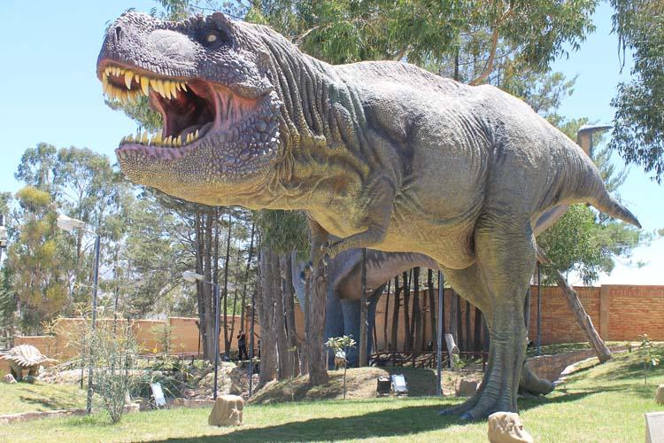Cretaceous Park in Sucre, Bolivia