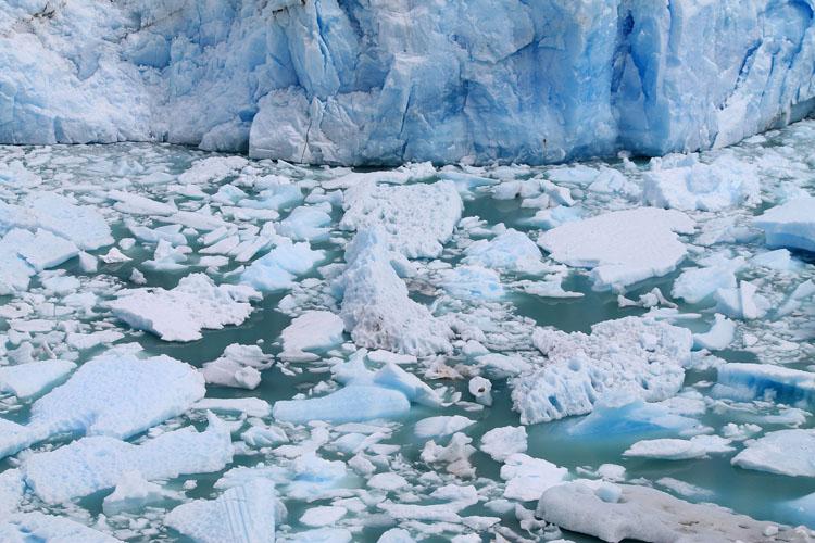 Ice near Perito Moreno Glacier, El Calafate, Argentina