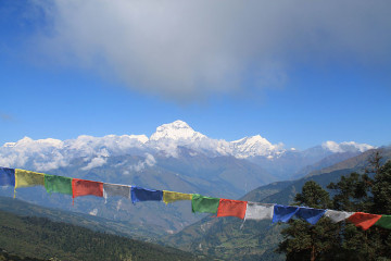 The 4 day Poon Hill Trek, Nepal