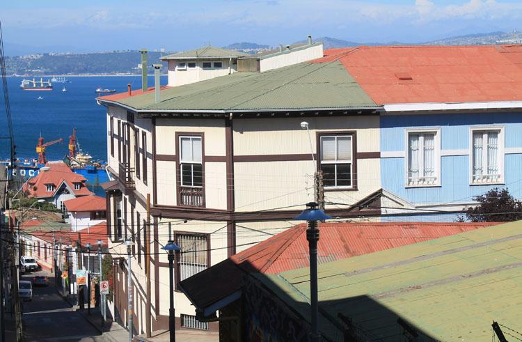 Day trip to Valparaiso, Chile: Cerro Alegre view