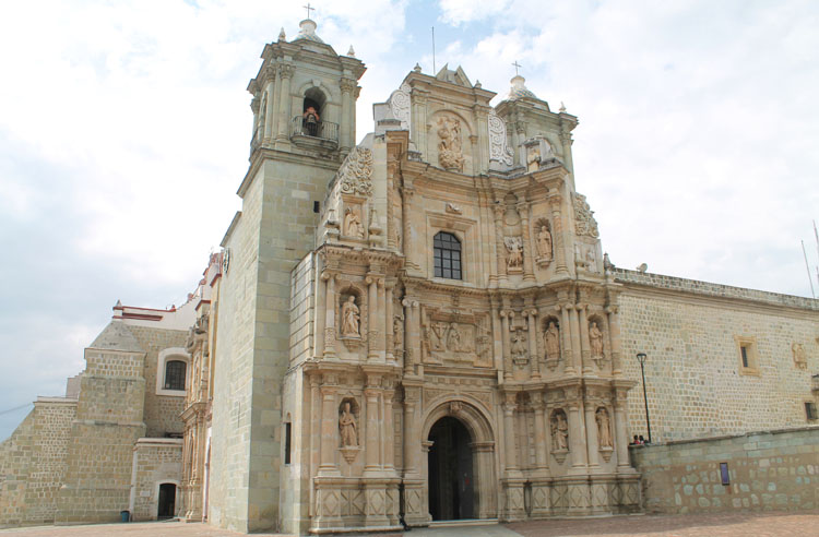 Two days in Oaxaca, Mexico: A detailed church