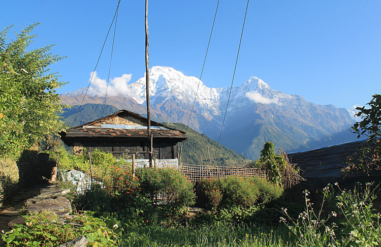 The 4 day Poon Hill Trek, Nepal : Ghandruk