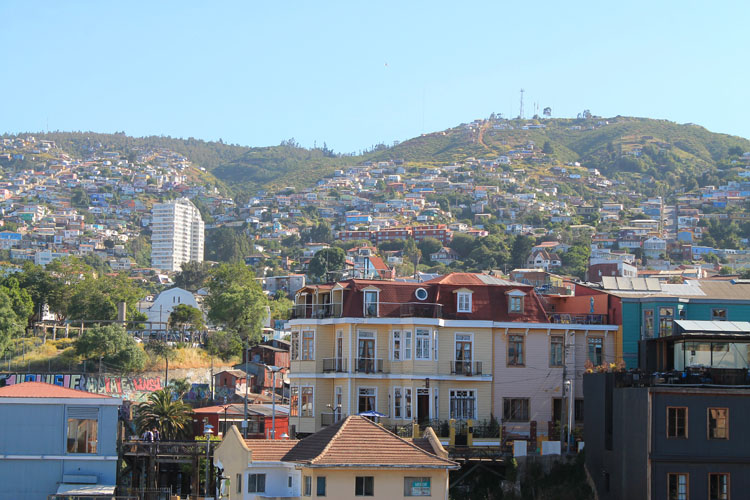 Day trip to Valparaiso, Chile: Hills