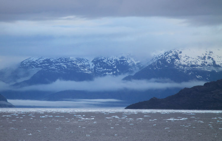 A budget cruise through Patagonia on the Navimag ferry from Puerto Montt to Puerto Natales: Floating ice