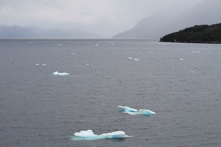 A budget cruise through Patagonia on the Navimag ferry from Puerto Montt to Puerto Natales: Icebergs