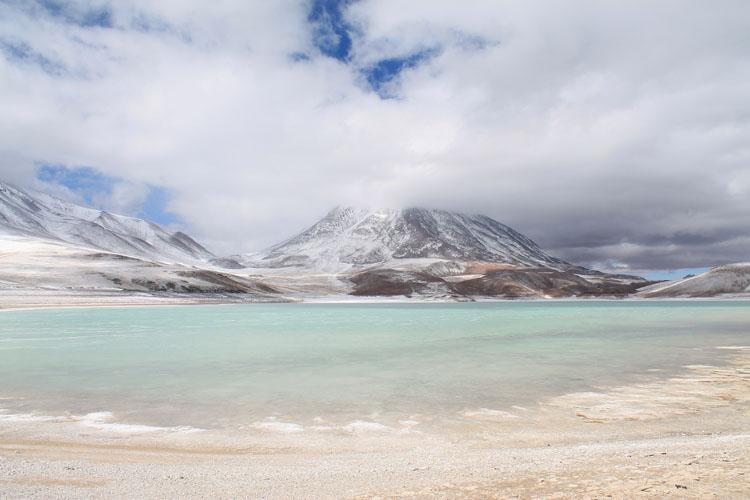 Uyuni salt flat tour. Bolivia: Laguna Verde