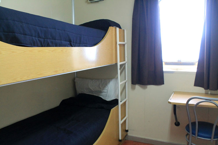 A budget cruise through Patagonia on the Navimag ferry from Puerto Montt to Puerto Natales: The Eden 2 person cabin