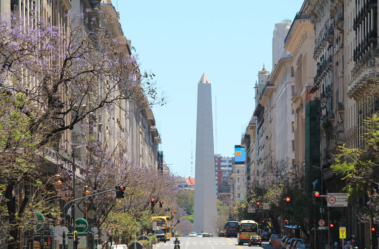 A Weekend in Buenos Aires, Argentina: Obelisk