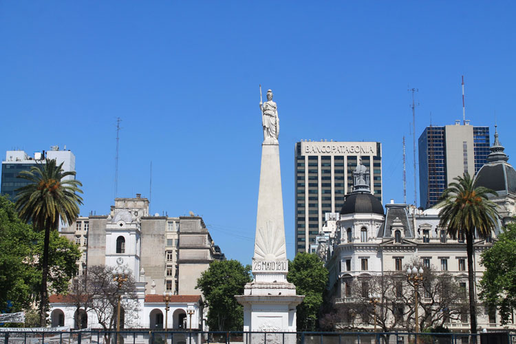 A Weekend in Buenos Aires, Argentina: Plaza de Mayo