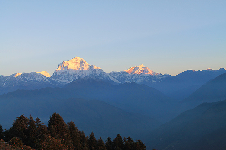 The 4 day Poon Hill Trek, Nepal : Annapurna Range, Himalayas