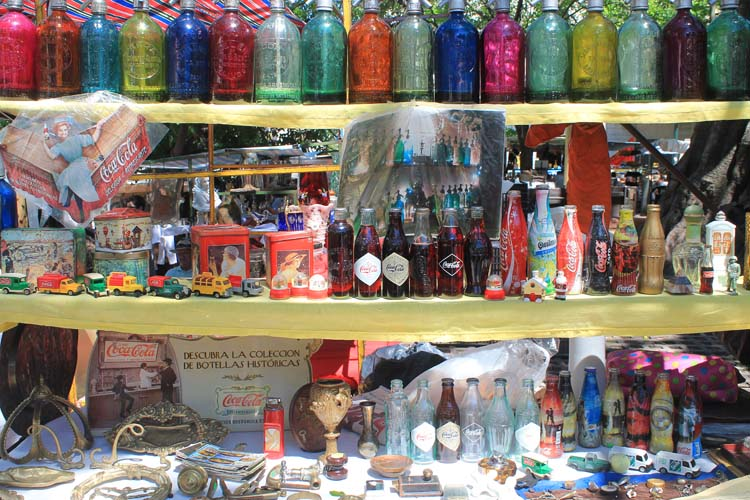 A Weekend in Buenos Aires, Argentina: A shop in San Telmo Market