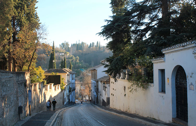 A street in Granada, Spain