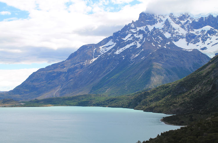 The W Trek, Torres del Paine National Park: Near the French Valley