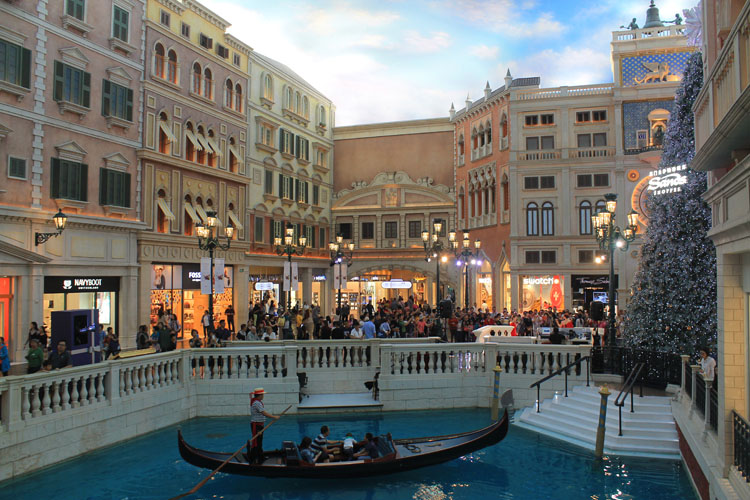 A day trip to Macau: The Venetian