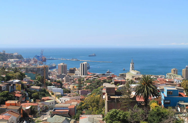 Day trip to Valparaiso, Chile: The view from Pablo Neruda's House