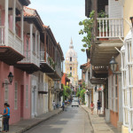 Behind the City Walls of Cartagena, Colombia