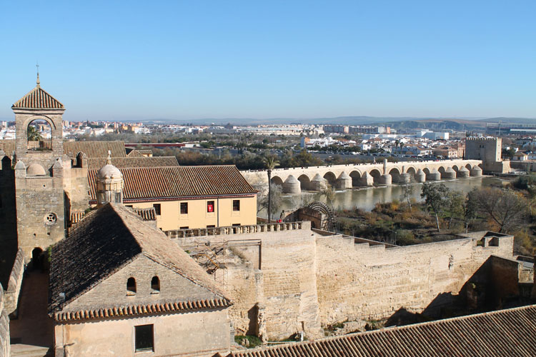 2 days in Córdoba, Spain -- The city from above