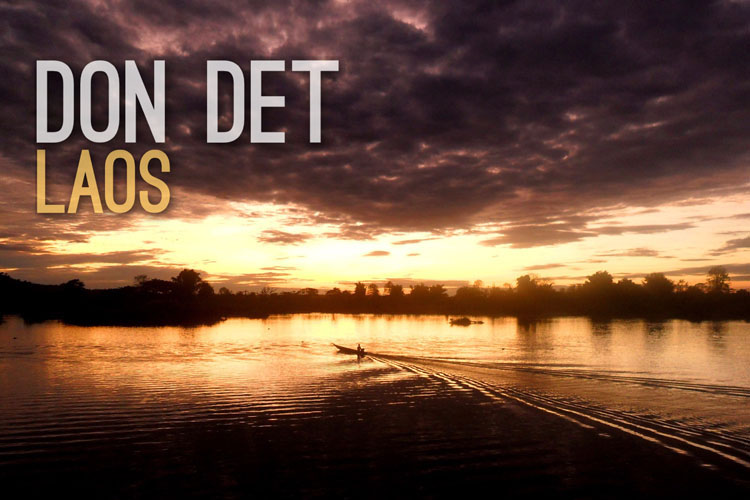 Planning a trip to Southeast Asia: Don Det sunset