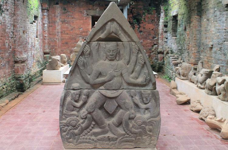 My Son ruins, Vietnam -- a hindu carving