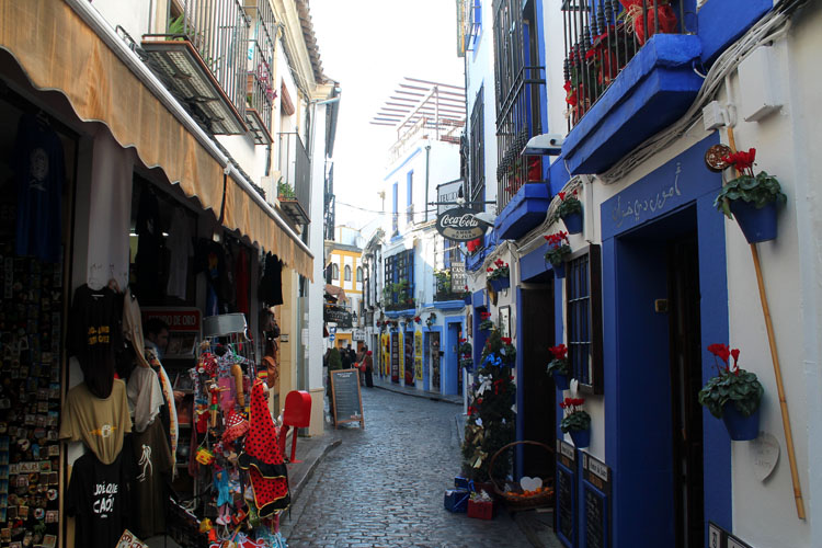 2 days in Córdoba, Spain -- the winding lanes of the Jewish Quarter