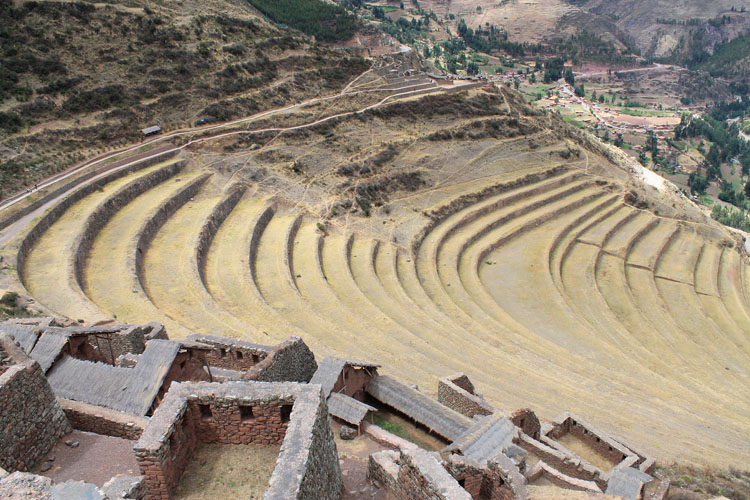 The ruins of Pisac, Peru (near Cusco)