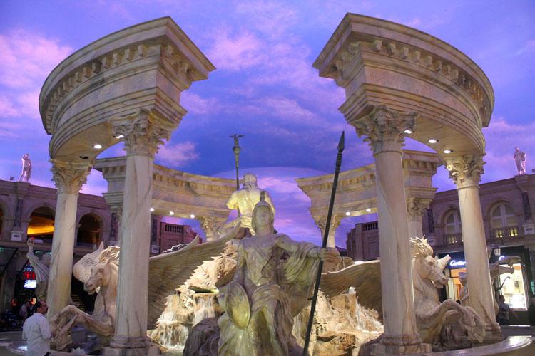 Rome fountain in Las Vegas