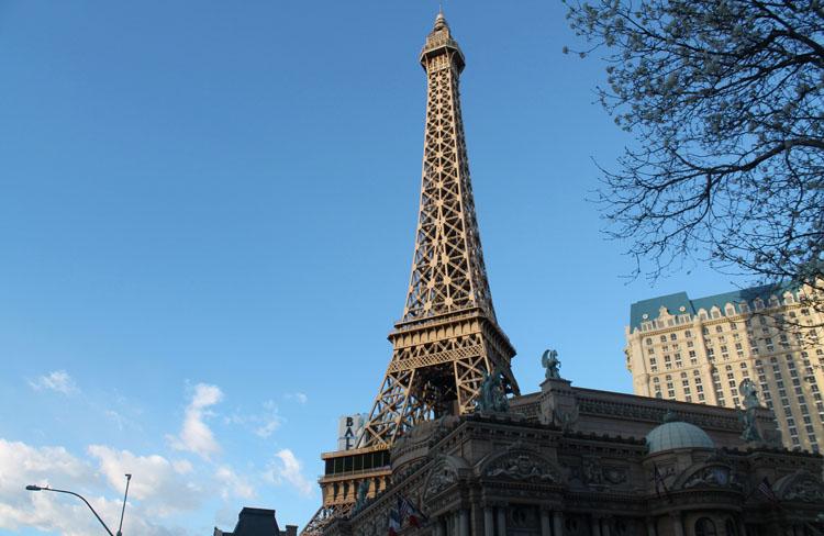 Eiffel Tower in Las Vegas, Nevada
