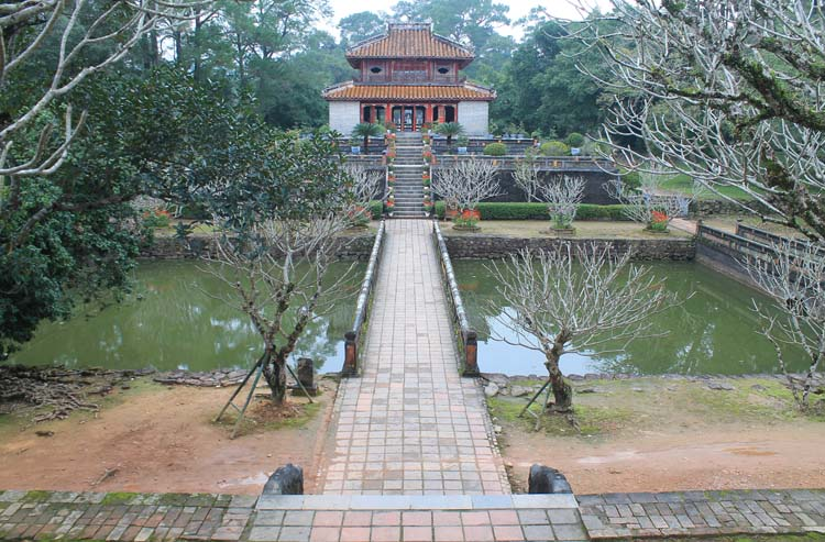 The best things to do in Hue, Vietnam -- Emperor Minh Mang's tomb