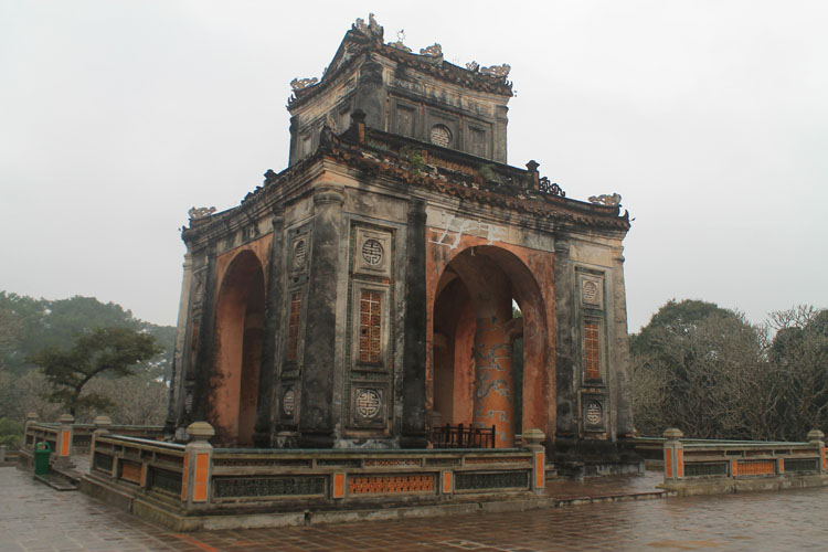 A day in Hue, Vietnam -- Tu Duc's tomb