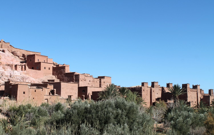 Backpacking in Morocco -- Ait Benhaddou