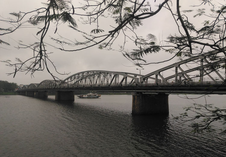 A day in Hue, Vietnam -- Bridge over the Perfume River