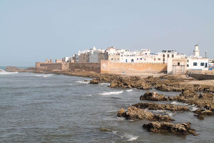 Backpacking in Morocco -- Essaouira
