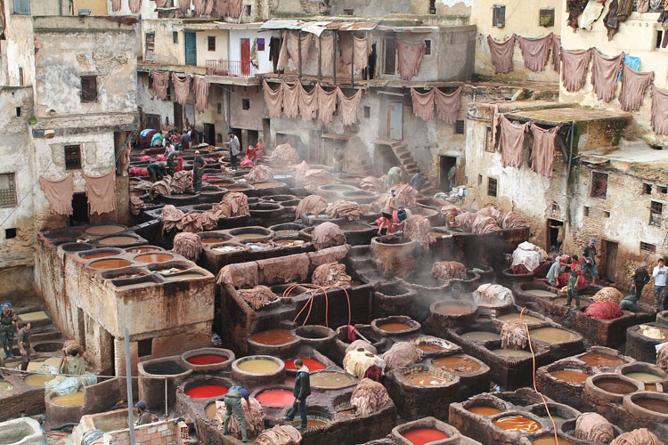 Backpacking in Morocco -- Fez