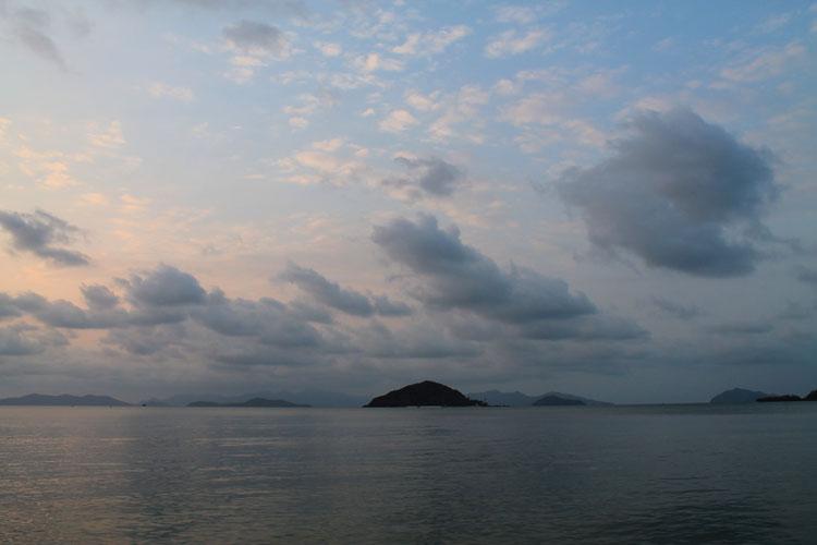 Sunset on Koh Mak, Thailand