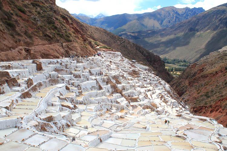 A day trip to Moray and Salinas de Maras, Peru -- Maras salt pans