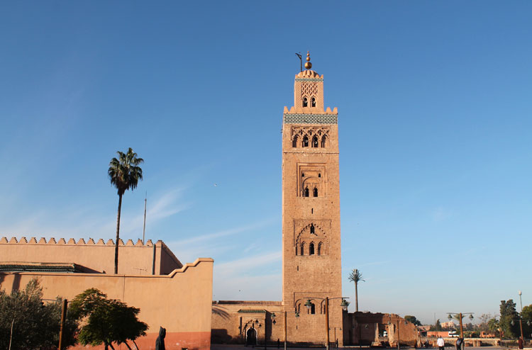 Backpacking in Morocco -- Marrakech