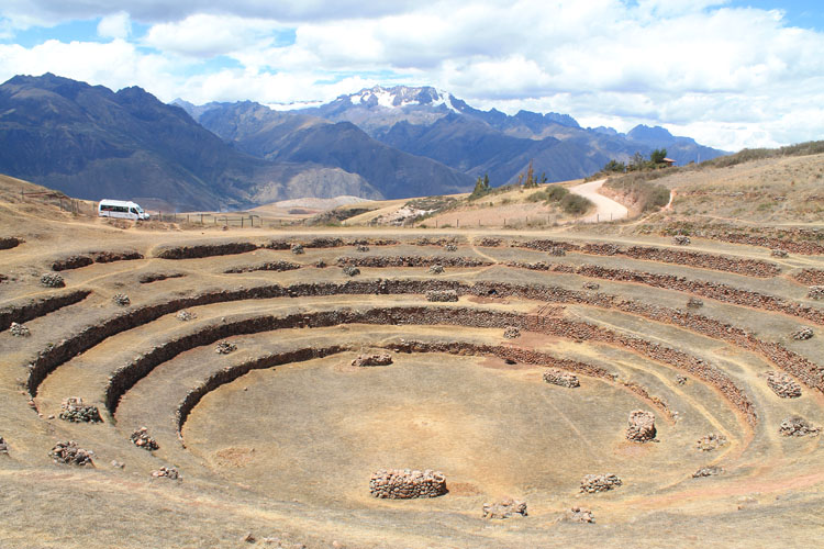 A day trip to Moray and Salinas de Maras, Peru