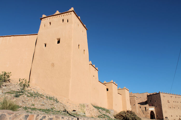 Backpacking in Morocco -- Ouarzazate